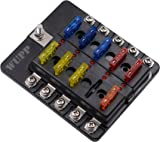 81UxS0mHERL._AC_UL160_SR160160_ amazon com blue sea systems st blade 12 circuit fuse block blue dc fuse box at alyssarenee.co