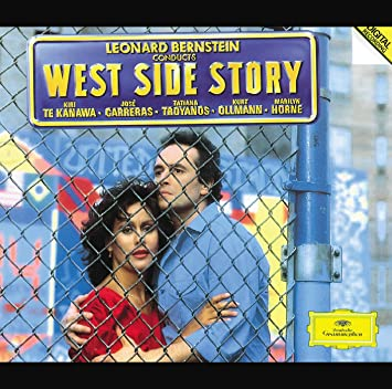 Kiri Te Kanawa José Carreras Tatiana Troyanos Kurt Ollmann Marilyn Horne Stephen Sondheim Leonard Bernstein Leonard Bernstein Israel Philharmonic Orchestra Leonard Bernstein Conducts West Side Story Music