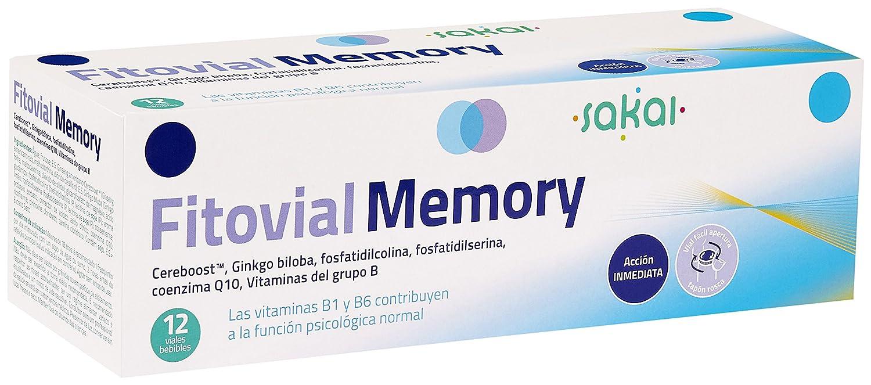 SAKAI MEMORY FITOVIAL 12 Viales 10 ml: Amazon.es: Salud y cuidado personal