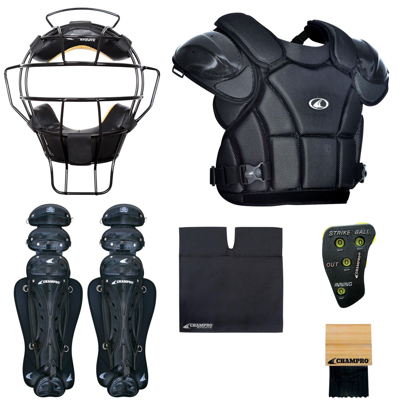 Champro Sports Varsity Umpire KIT-BLACK Black