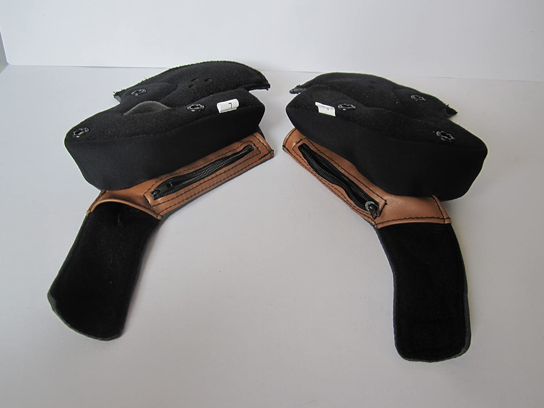 LS2 Helmets Cheek Pad for OF569 Helmets 02-182 Black, Small