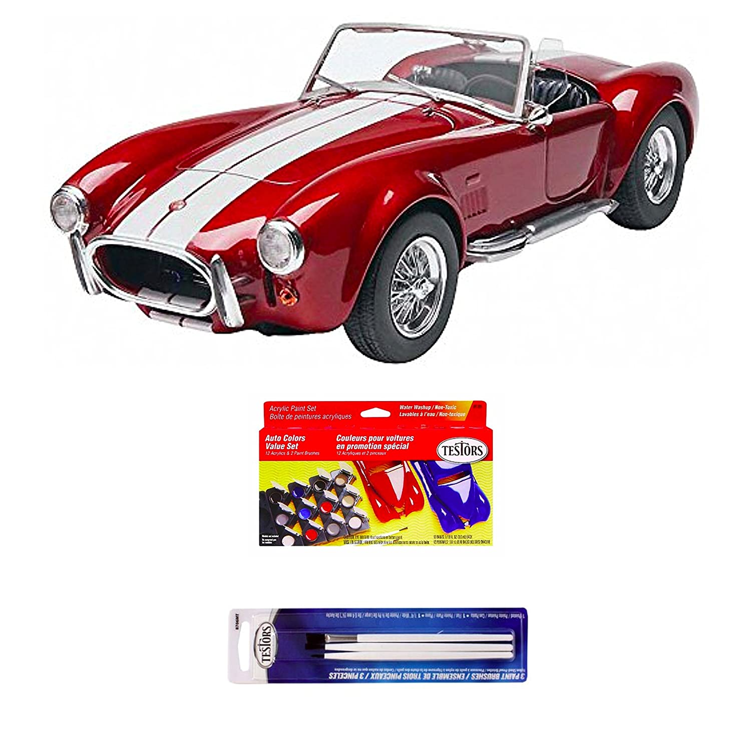 Amazon.com: Bundle Includes 3 Items - Revell Monogram Shelby ...