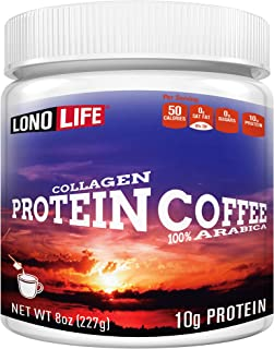 product image for LonoLife Protein Coffee with 10g Protein, 8-Ounce Bulk Container