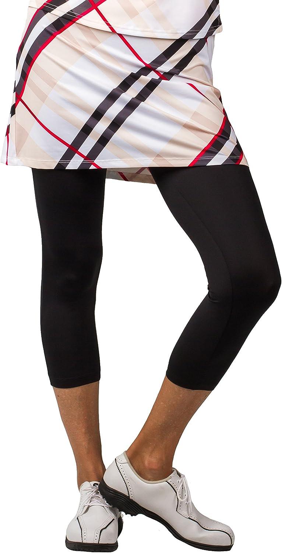 SanSoleil Womens SolCool UV 50 Skortie Capri Leggings