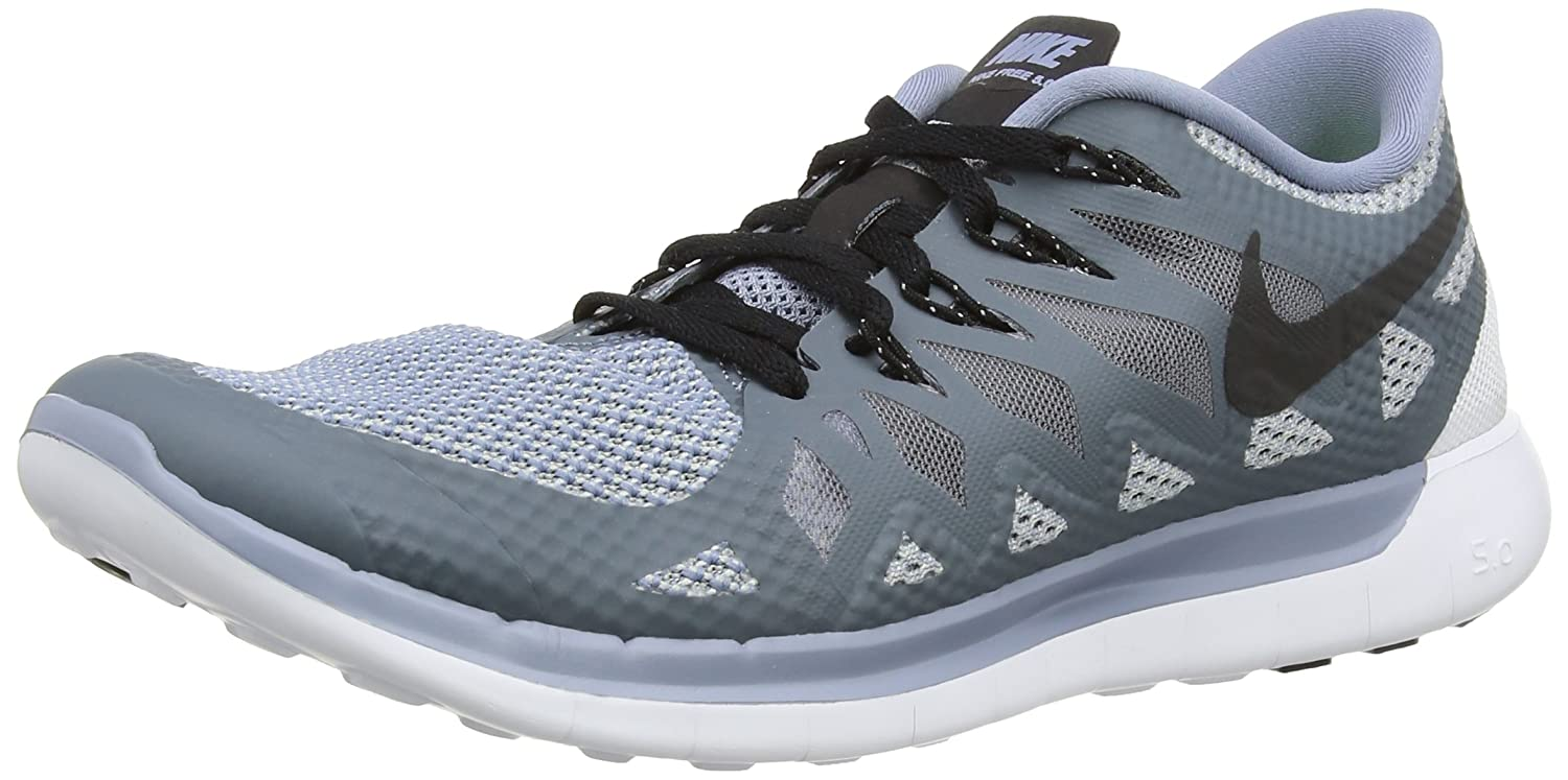 9e8585e4593d7 Amazon.com: Nike [642198-407] Free 5.0 Mens Sneakers NIKECOOL Blue Black  Wolf GREYM: Sports & Outdoors