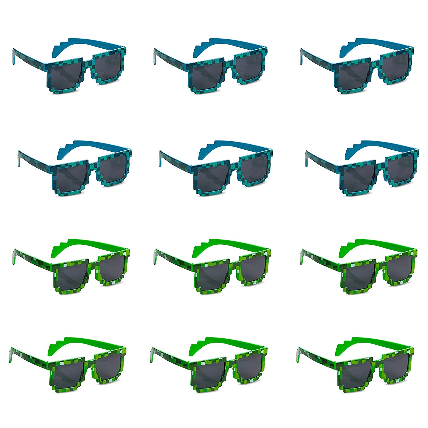 9d16bf7e301a Amazon.com  Katzco Pixel Sunglasses