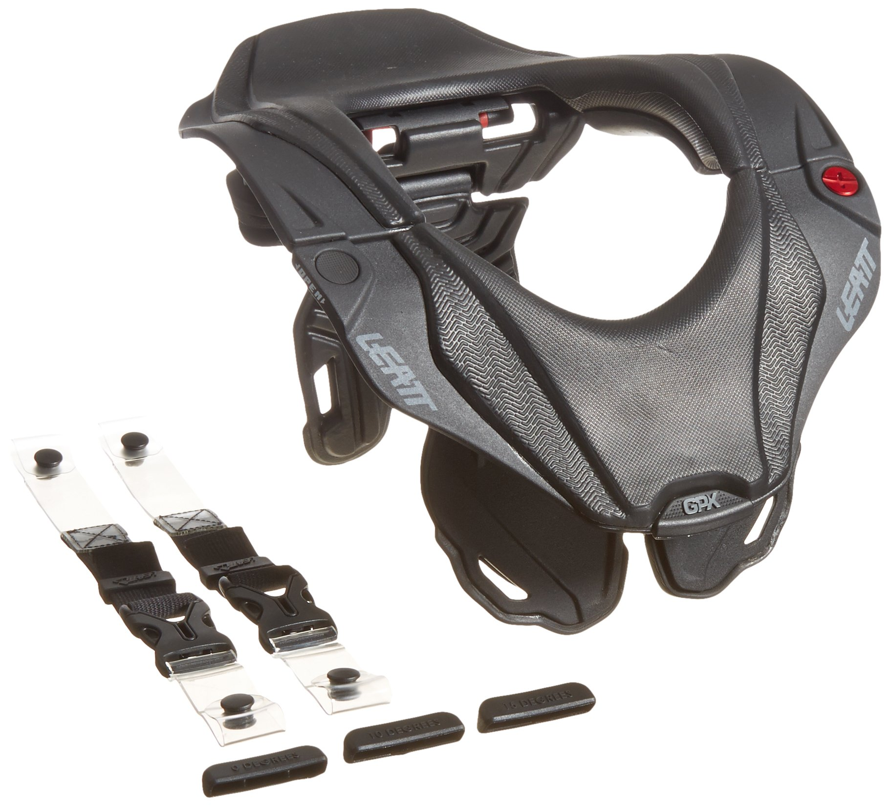 Leatt GPX 5.5 Neck Brace (Black/Grey, Junior)