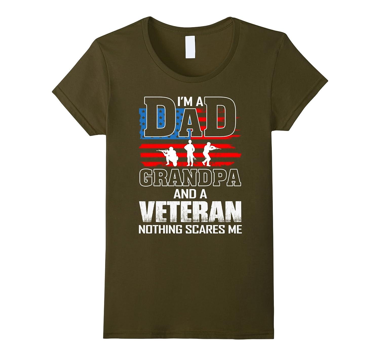 Mens Grandpa Veteran T Shirt Veterans-Xalozy