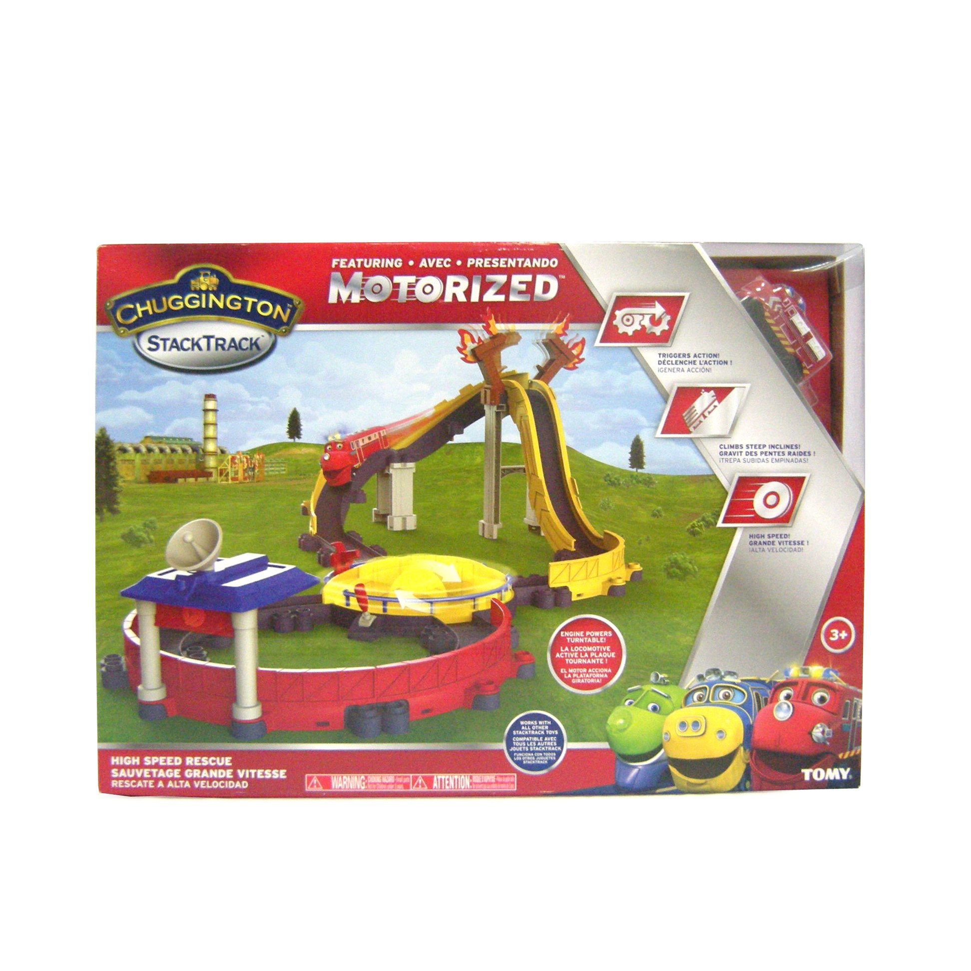 Chuggington StackTrack Motorized High Speed Rescue by TOMY (Image #7)