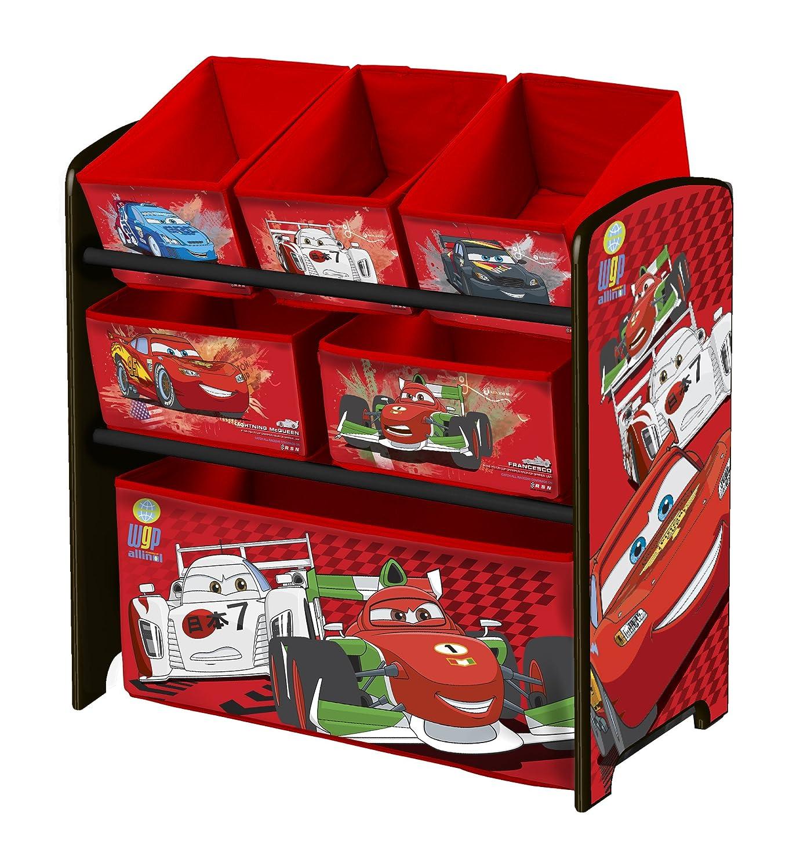 Delta Children Multi-Boite de rangement a Jouets Cars: Amazon.fr ...