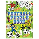 Henbrandt 12 MINI Fun KIDS Football ACTIVITY BOOK