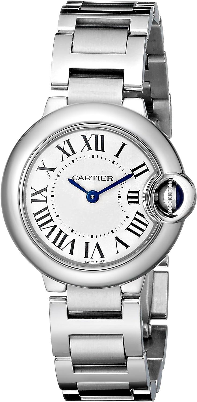 Cartier Ballon Bleu - Reloj (Reloj de pulsera, Masculino, Acero inoxidable, Acero inoxidable, Acero inoxidable, Acero inoxidable)