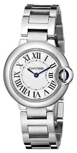CARTIER BALLON BLEU DE CARTIER RELOJ DE MUJER CUARZO CORREA DE ACERO W69010Z4: Amazon.es: Relojes