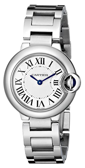 cartier womenu0027s w69010z4 ballon bleu stainless steel dress watch