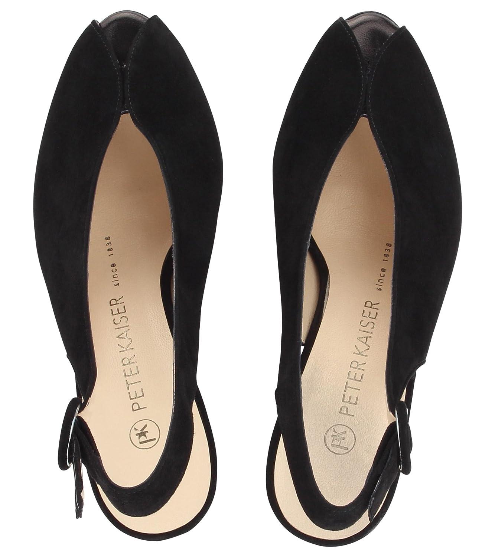 super popular 3aab6 559d0 Peter Kaiser Veronique Black Size 4.5 UK: Amazon.co.uk ...