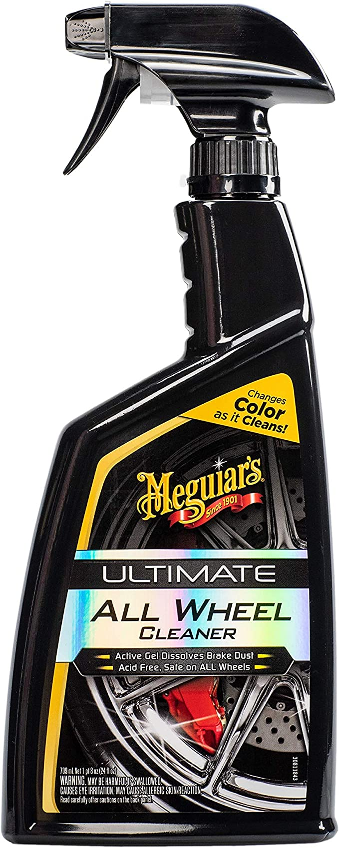 Meguiar's Ultimate All Wheel Cleaner, 24 oz