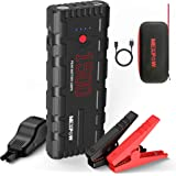 NEXPOW Car Battery Starter, 1500A Peak 21800mAh 12V Portable Auto Car Battery Charger Jump Starter Battery Pack with USB…