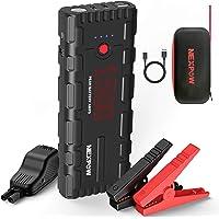 NEXPOW Car Battery Starter, 1500A Peak 21800mAh 12V Portable Auto Car Battery Charger Jump Starter Battery Pack with USB…