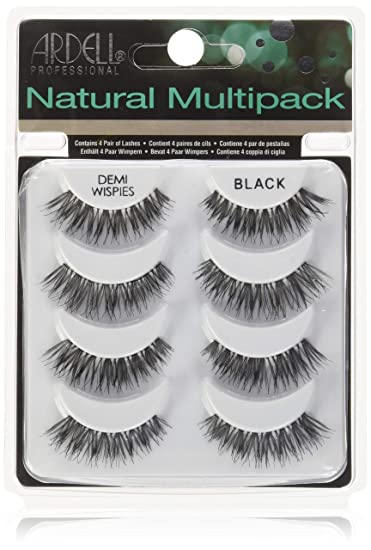 972fcc75cff Image Unavailable. Image not available for. Color: Ardell Multipack Demi  Wispies Fake Eyelashes 2 Pack