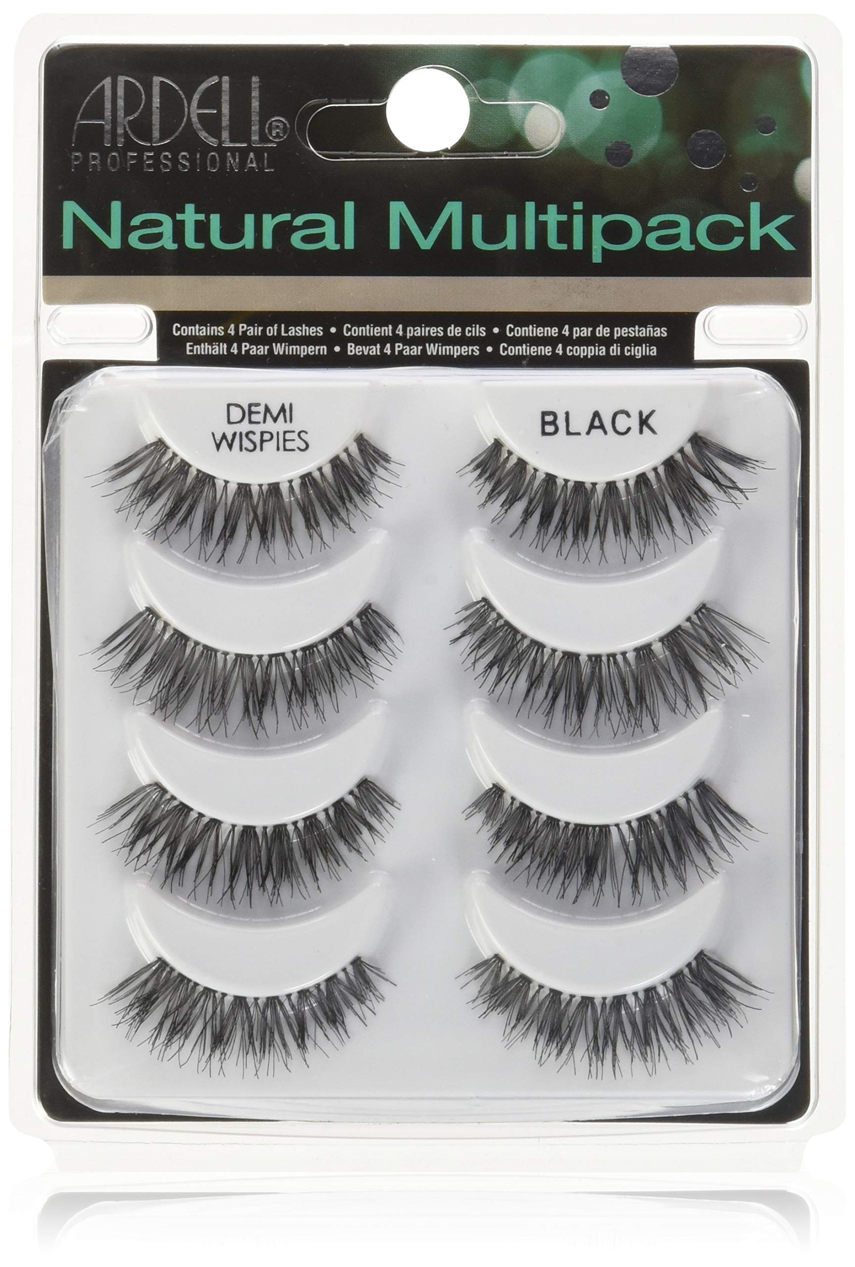 f12bc93f2b6 Amazon.com: Ardell Multipack Demi Wispies Fake Eyelashes 2 Pack: Health &  Personal Care