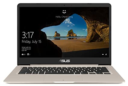 "ASUS VivoBook S14 ( Core i5- 8th Gen/8 GB/ 256GB SSD / 14.0"" FHD/ Windows 10 ) S406UA-BM204T (Icicle Gold /1.2 kg) Computers & Accessories at amazon"