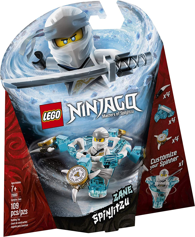 LEGO NINJAGO Spinjitzu Zane 70661 Building Kit, 2019 (109 Pieces)