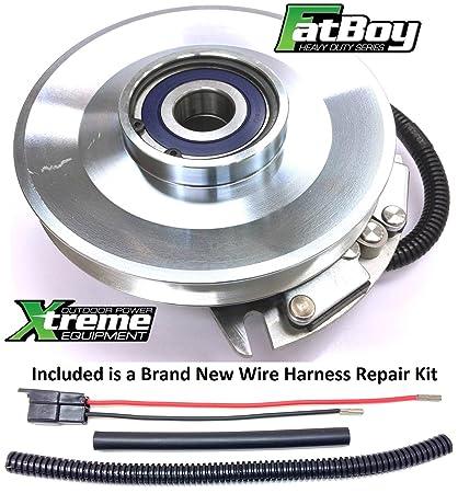 PTO Clutch For Exmark 103-3246 w//Wire Harness Kit HeavyDuty FatBoy Series