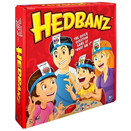 Amazon hedbanz game edition may vary toys games hedbanz game edition may vary solutioingenieria Images