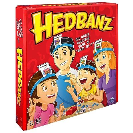 Games Spin Master - Hedbanz, Juego de Preguntas, versión en inglés [Importado de