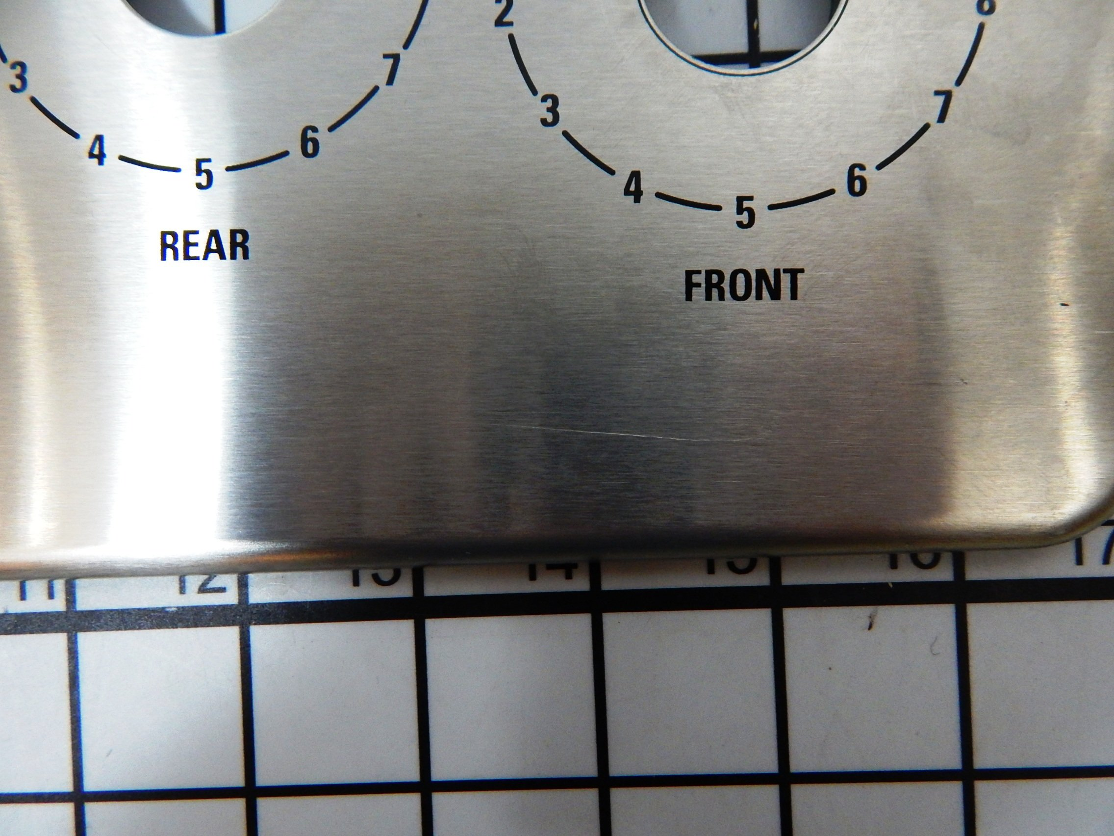 Appliances ⇒ GE Range Stove Oven WB27T10699 Faceplate