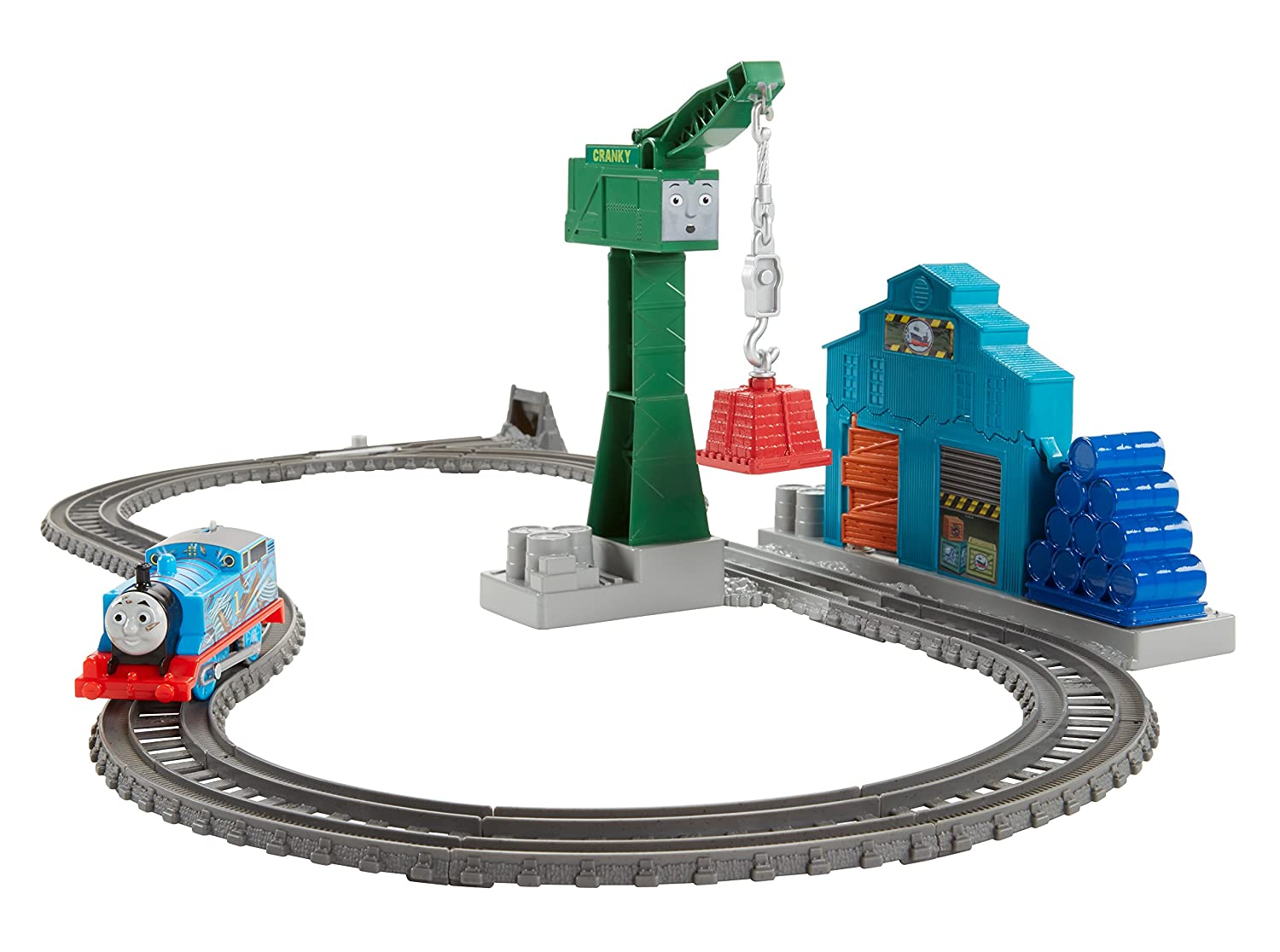 Fisher-Price Thomas & Friends TrackMaster Demolition at the Docks Set