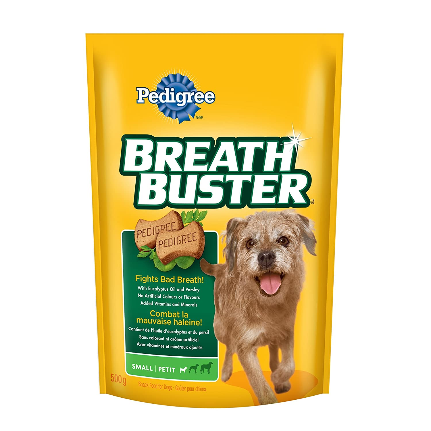 Pedigree Breathbuster Biscuit Treats for Dogs 0 23100 01451 7