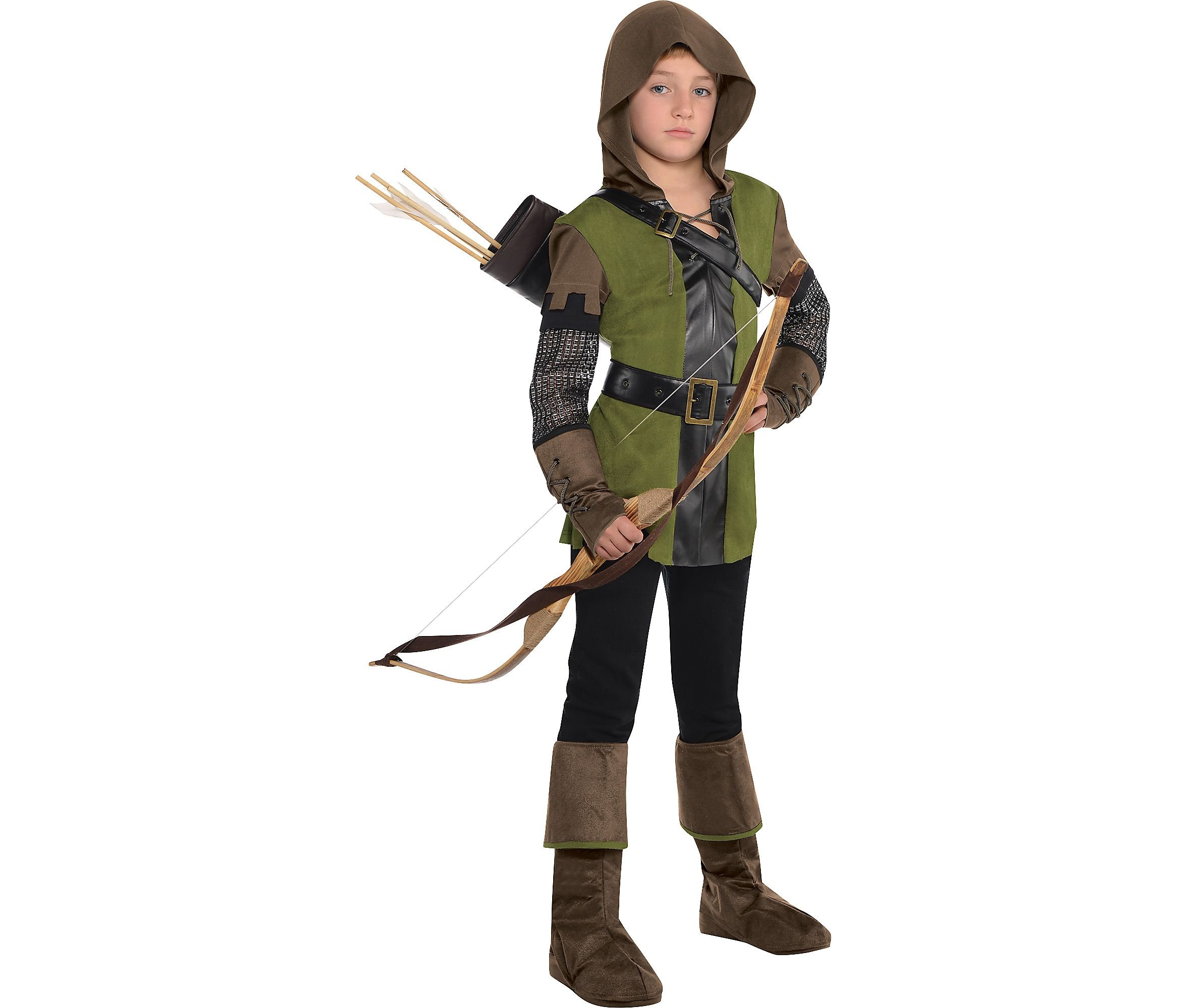 AMSCAN Prince of Thieves Robin Hood Halloween Costume for Boys, Large, with Included Accessories