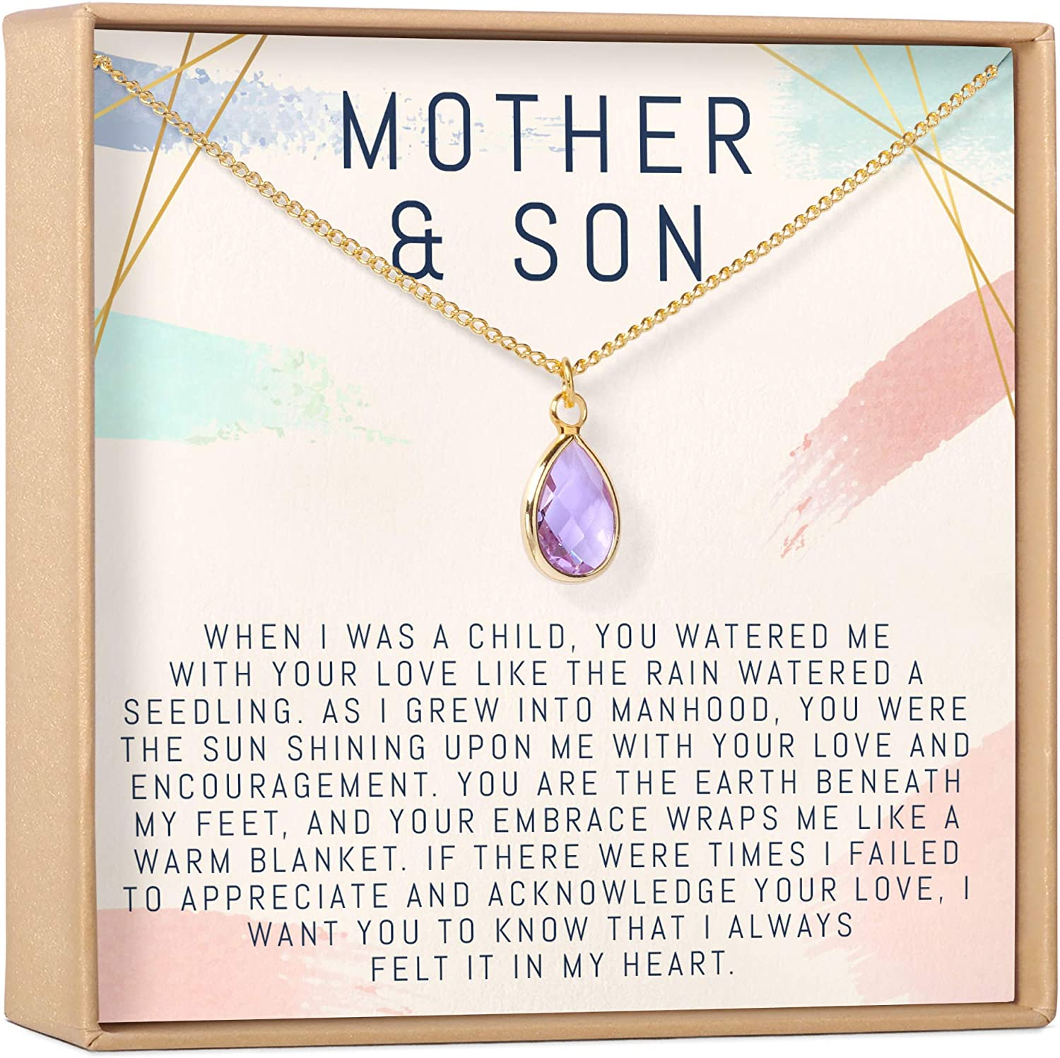 Mom Heart Charm My Mom My Friend Sideways Heart Bead Forever in my Heart Mama Necklace