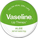 Vaseline Lip Therapy Lip Balm Tin, 0.6 Ounce (Pack of 2)