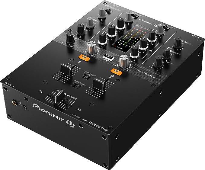 Pioneer DJM-250MK2 2 2 canales 20-20000Hz Negro mesa de mezclas de ...