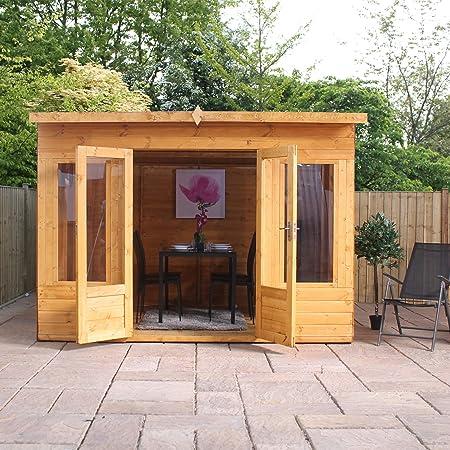 Green Planet UK – 10 x 8 Premium Helios Summerhouse, elegante ...