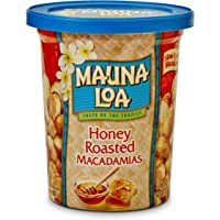 Mauna Loa Dry Roasted Macadamia Nuts (Honey Roasted 4oz Single Cup)