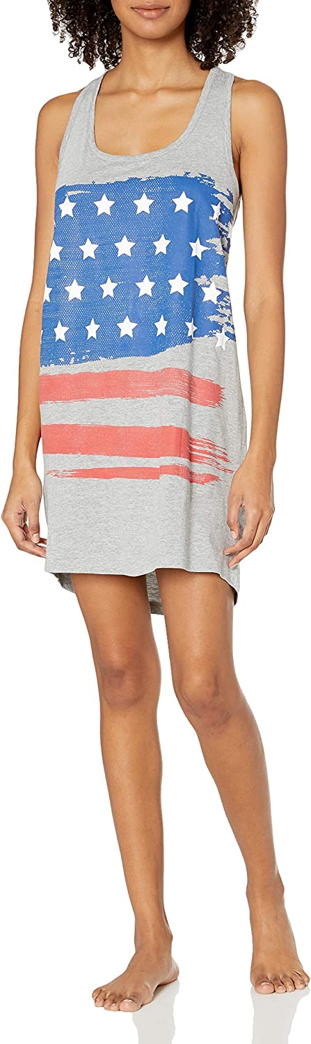 Amazon Brand - Mae Women's Sleepwear Racerback Jersey Nightgown