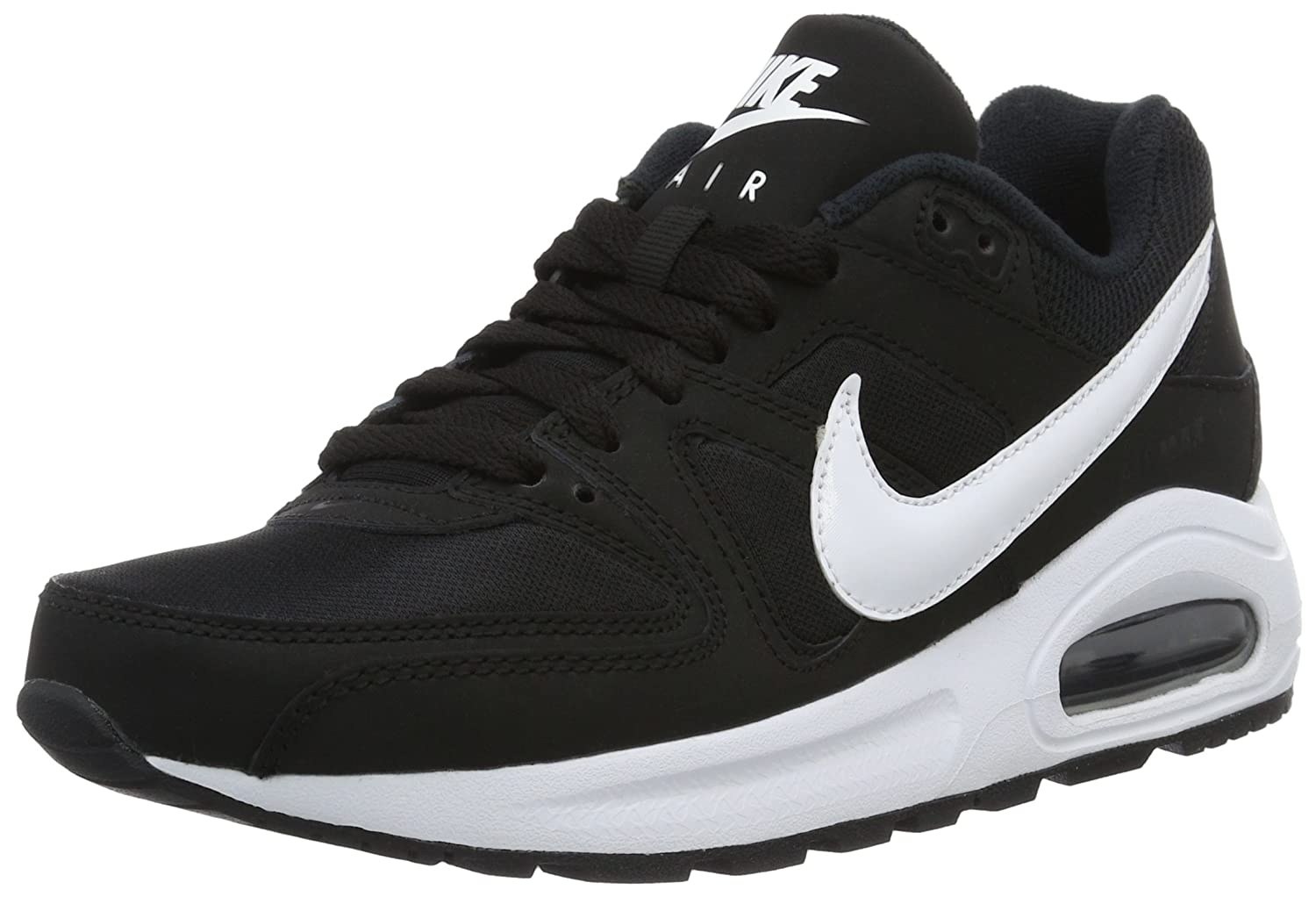 Nike Air Max Command Flex LTR (GS) Sneaker, EU Shoe Size:EUR 38.5, Color:Black