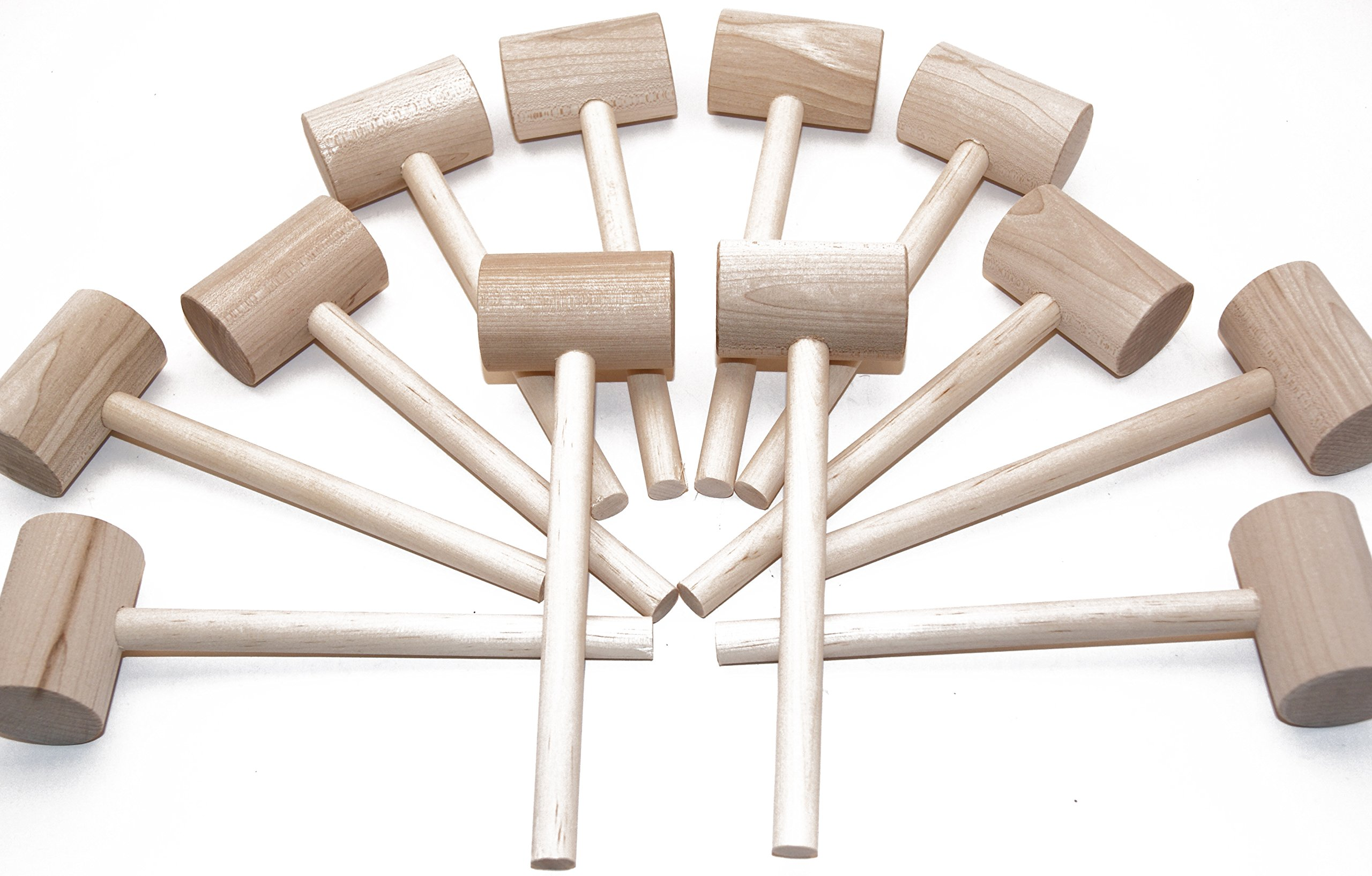 Beall's Bay 12 Pack Crab or Lobster Mallets with Off-Season Storage Box by Beall's Bay