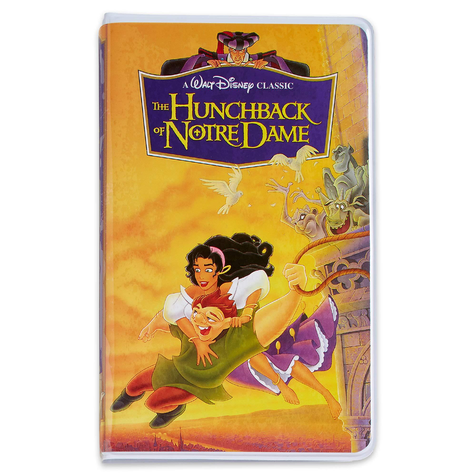 Disney Hunchback of Notre Dame ''VHS Case'' Journal