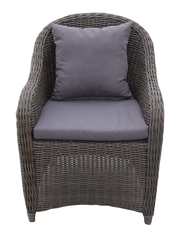 Ambientehome Polyrattan Sessel Stuhl Aversa bicolor, braun, online ...