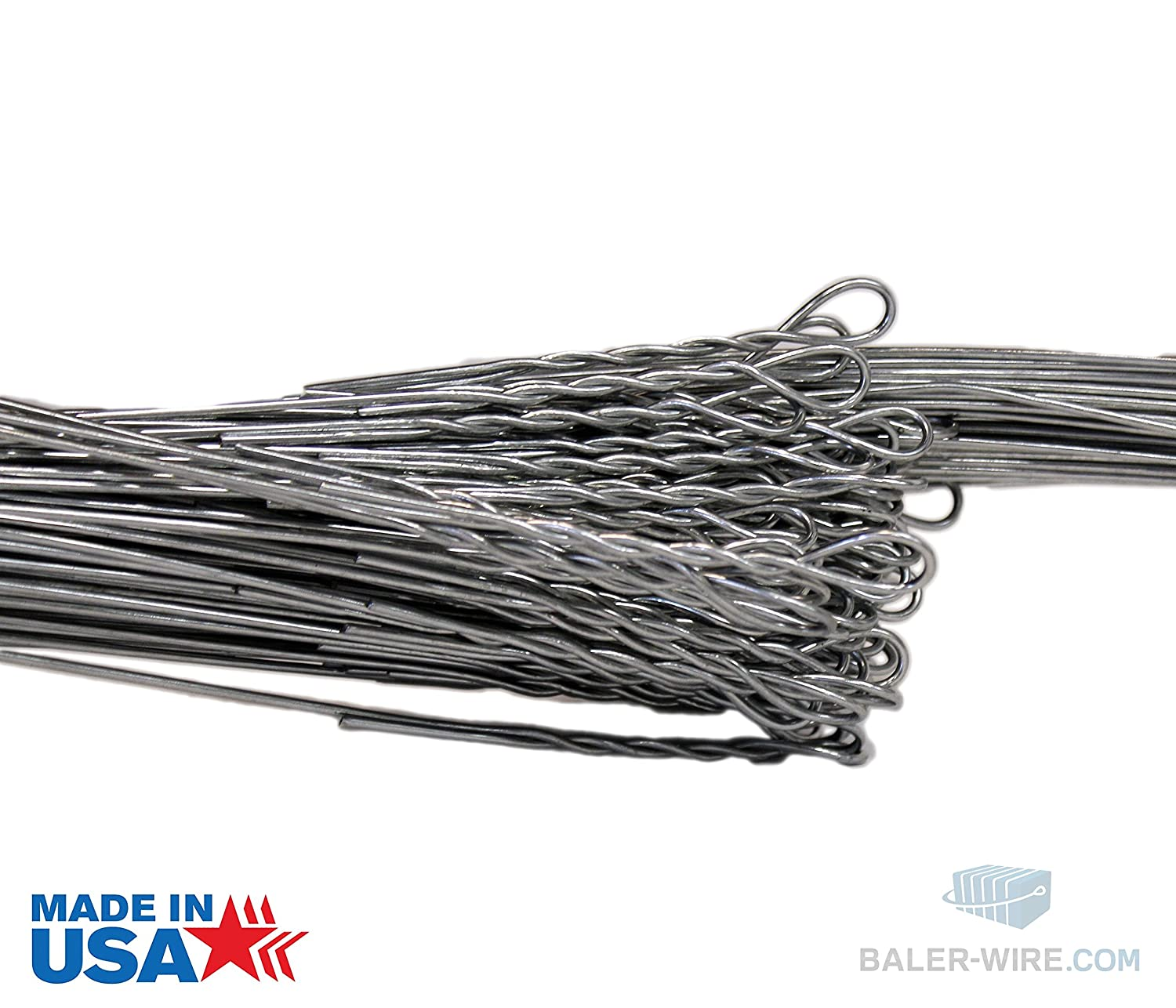 14 Gauge x 14\' Length Baler Wire (Bale Wire) 125 count: Amazon.com ...