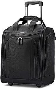 Samsonite Upright Wheeled Carry-On Underseater, Black, Large