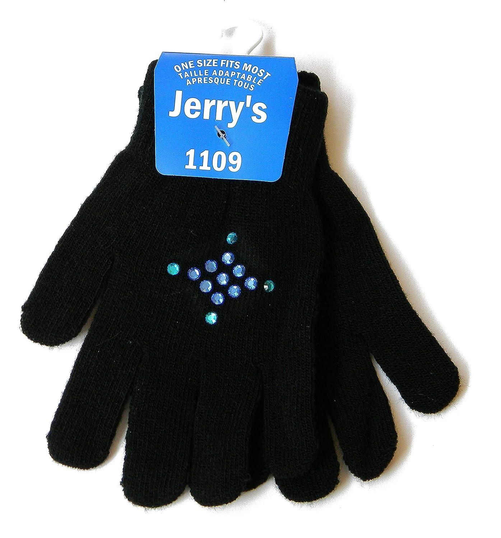 Einheitsgr/ö/ße Jugend Jerrys Handschuhe 1109 mit blauem Strass