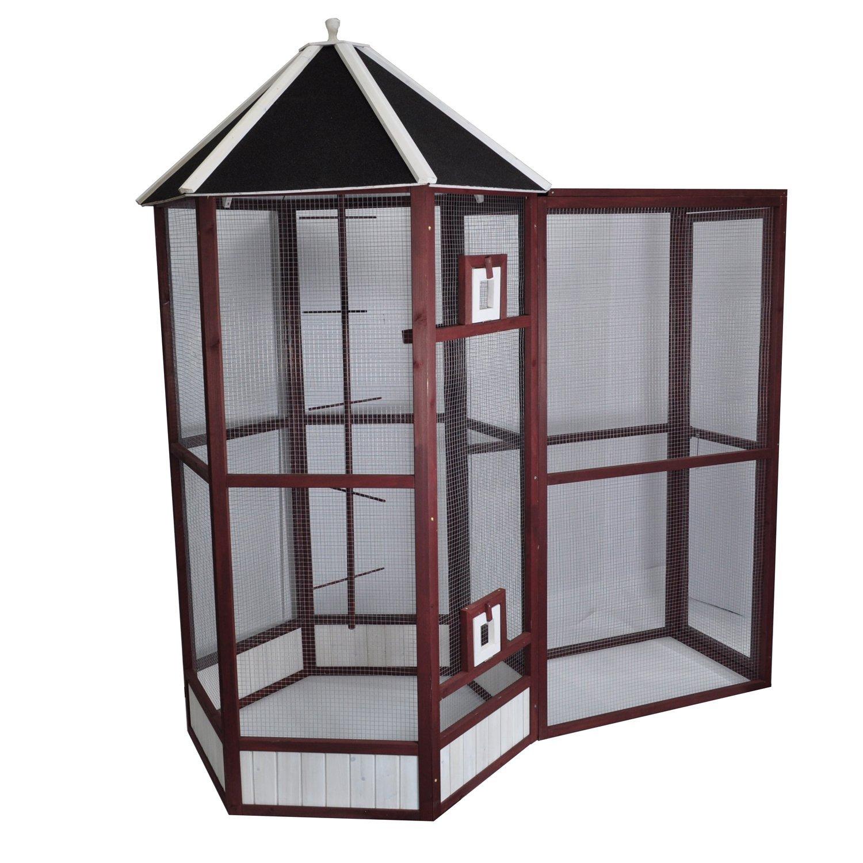 Amazon.com : Advantek The Portico Aviary Auburn : Birdcages : Pet ...
