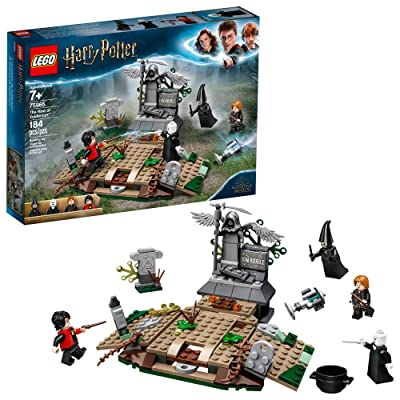 LEGO Harry Potter and The Goblet of Fire The Rise of Voldemort 75965 Building Kit (184 Pieces): Toys & Games
