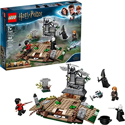 Lego Harry Potter And The Goblet Of Fire The Rise Of Voldemort 75965 Building Kit 184 Pieces Toys Games
