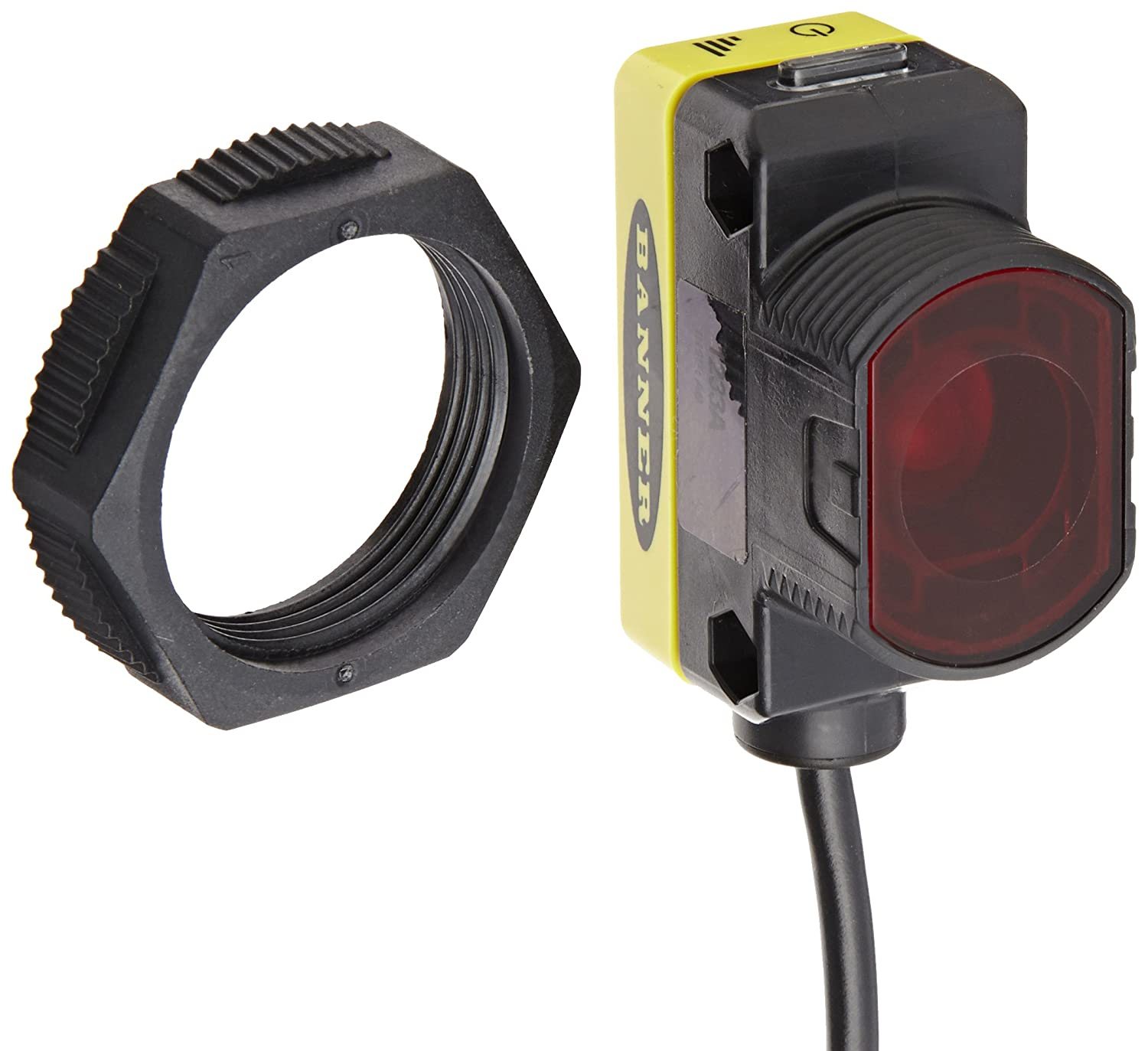 5 Wire Connection 2 meters Cable Length Banner QS30R World Beam Universal Sensor 875nm Infrared Opposed 60m Range